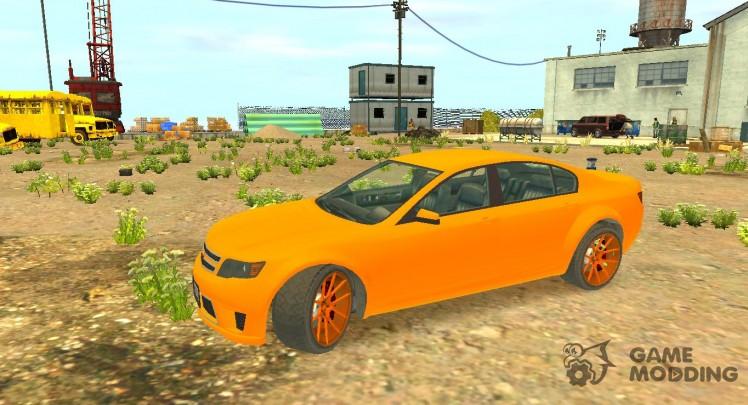 Cheval Fugitive new wheels из GTA 5