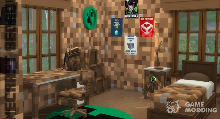 Pinkfizz Minecraft Bedroom