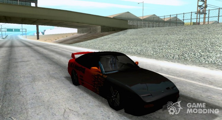 Nissan 180SX R-D Tuned