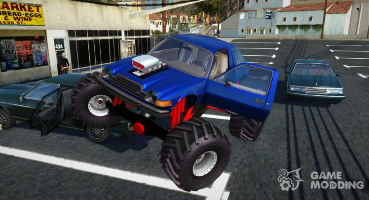 AMC Pacer Monster Truck for GTA San Andreas