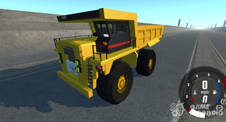 Dumper Minero for BeamNG.Drive