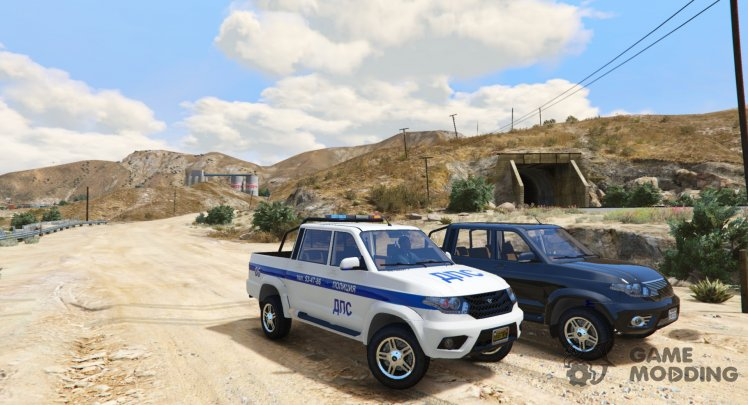 UAZ Patriot Pickup Police