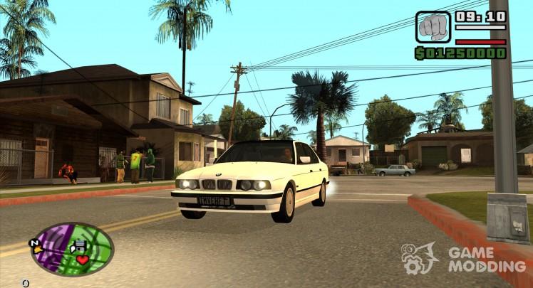 BMW 5 Series e32 (525i)