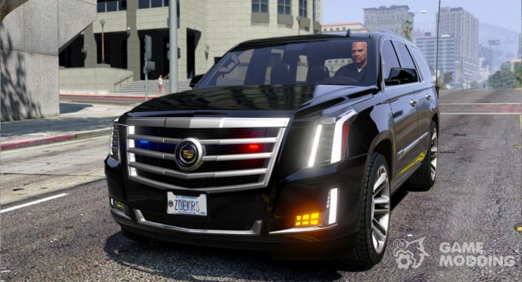 Cadillac Escalade FBI Petrol Vehicle 2015 FINAL
