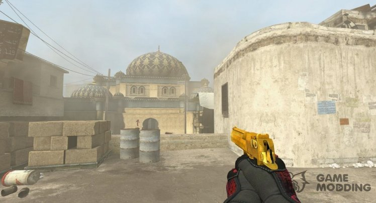 Gold Deagle from CSGO