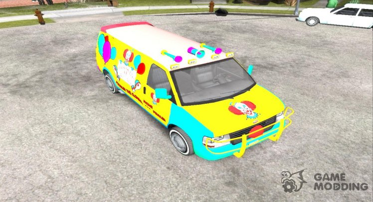 Vapid Speedo GTA V Clown Van