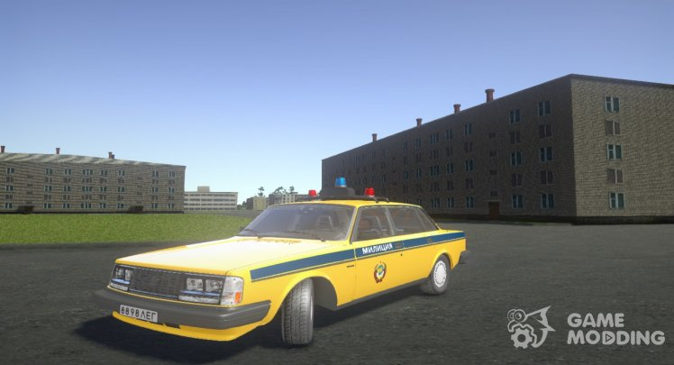 Volvo 740 Police of the USSR