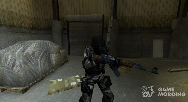 Player skins for Counter-Strike Source with automatic installation