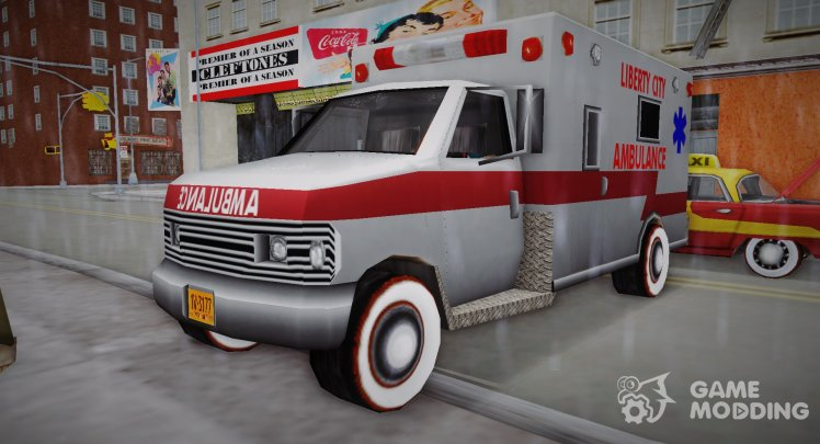 New Texture Ambulance 1962