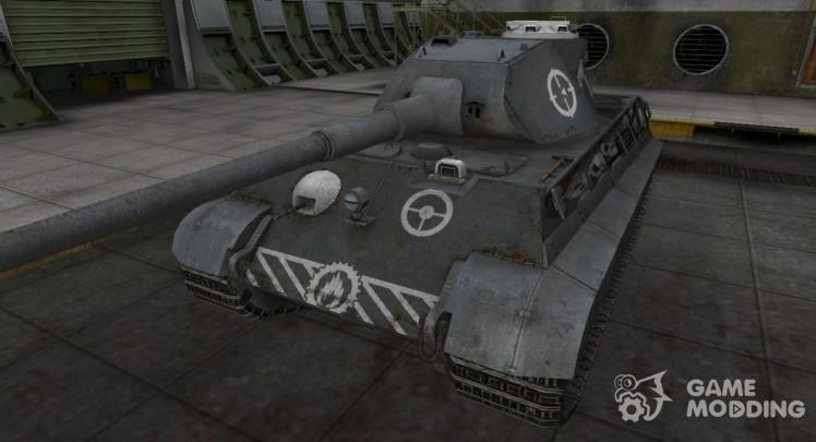 Зоны пробития контурные для PzKpfw VIB Tiger II