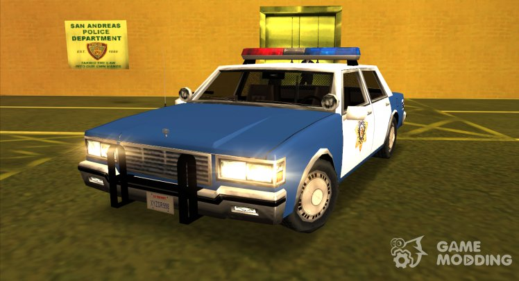 1986 Chevrolet Police LVPD Sa Style