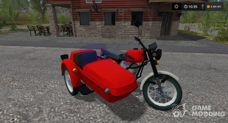 IZH Planeta with a sidecar for Farming Simulator 2017