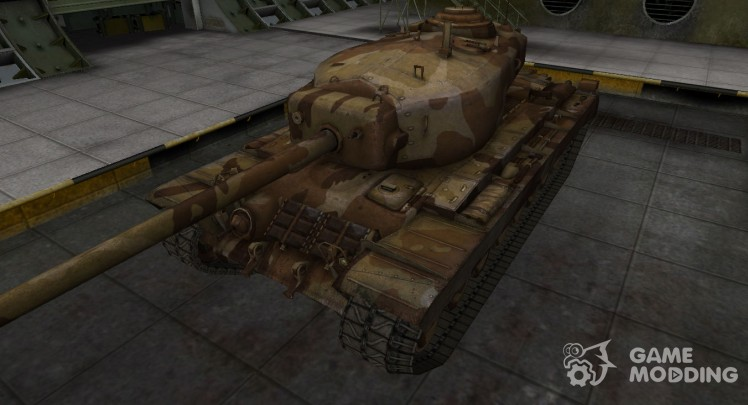 Emery cloth for American tank T30