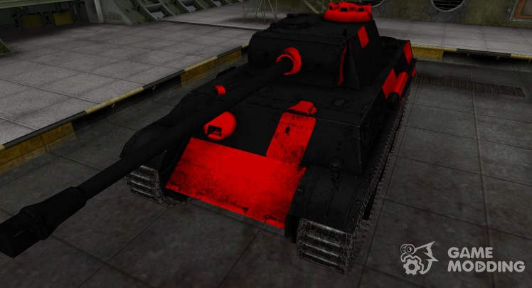 Black and red zone breakthrough PzKpfw V Panther