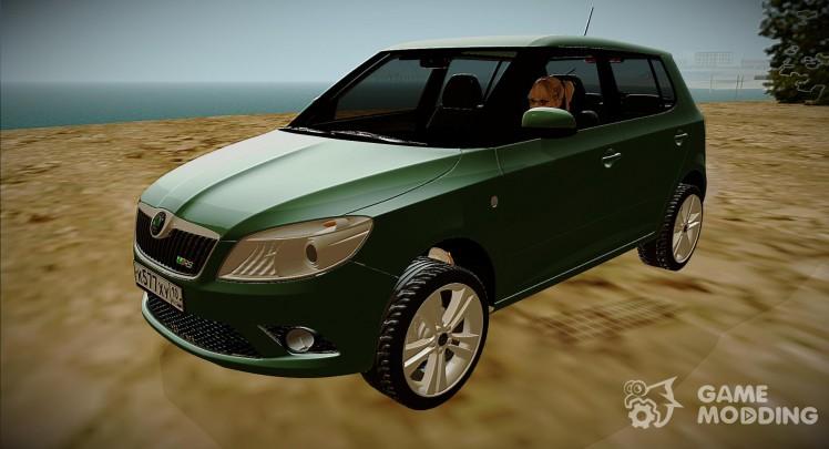 Skoda Fabia RS (2010)