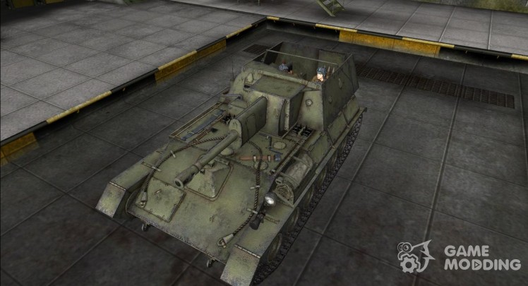 Remodelling for Su-85B