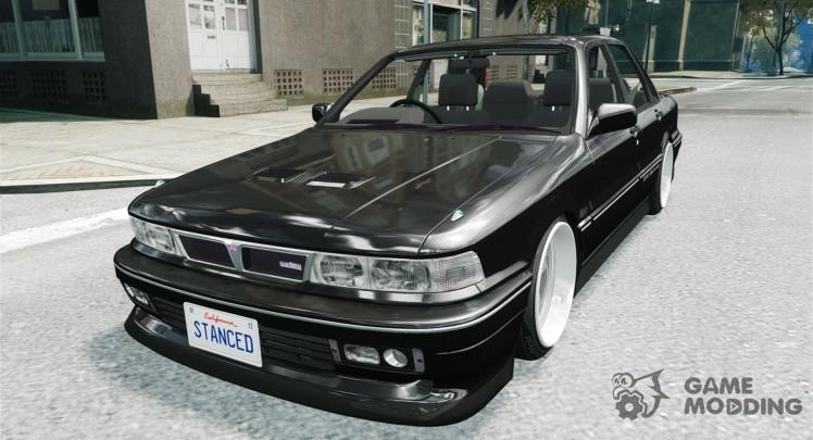 Mitsubishi Galant Stance