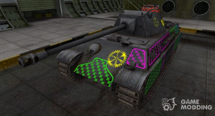 Quality of breaking through for the Panther II
