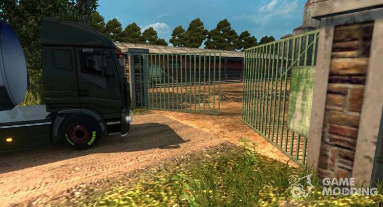 Анимация ворот 2.4