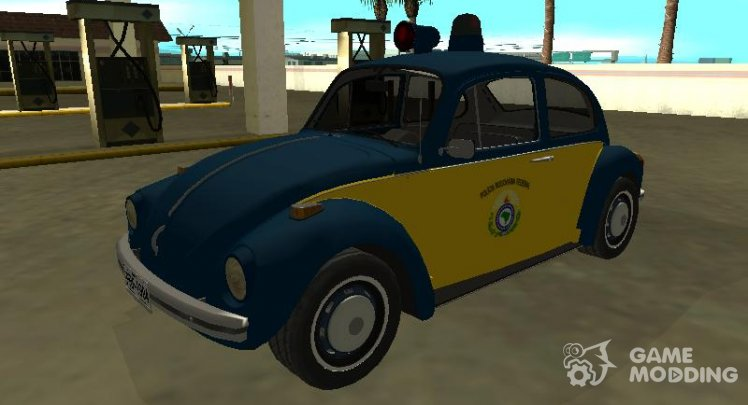 Volkswagen Beetle 1994 Federal Road Police
