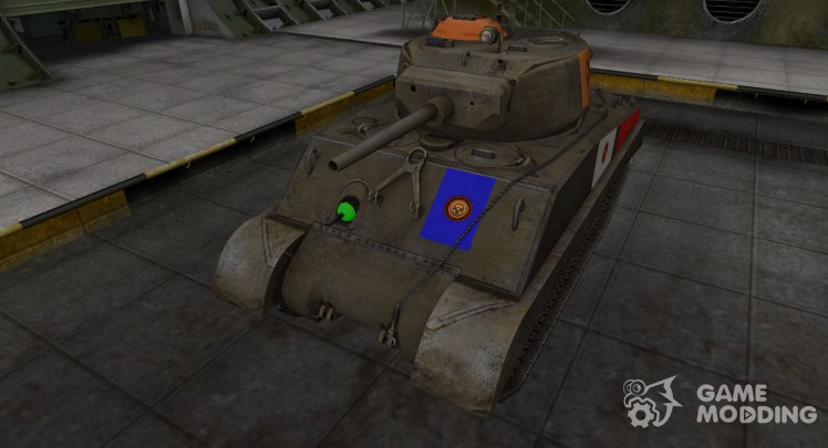 High-quality skin for M4A3E2 Sherman Jumbo