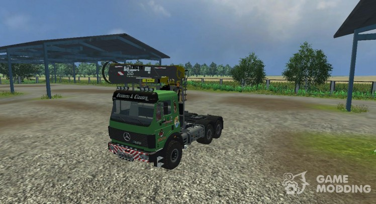 Mercedes-Benz SK 2653 timber loader v2.0