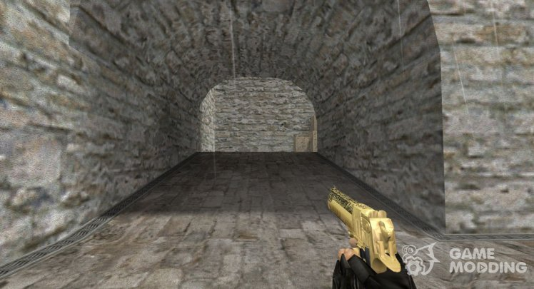 Deagle Gold Scorpion