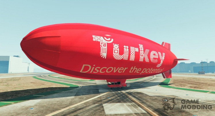 Turkey discover the potential - Blimp