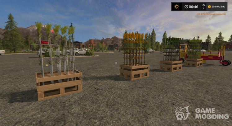 Seedlings for Farming Simulator 2017