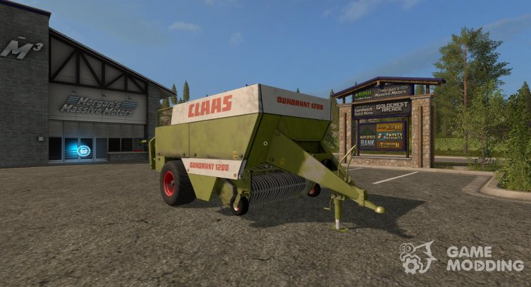 Claas Quadrant 1200 version 1.0