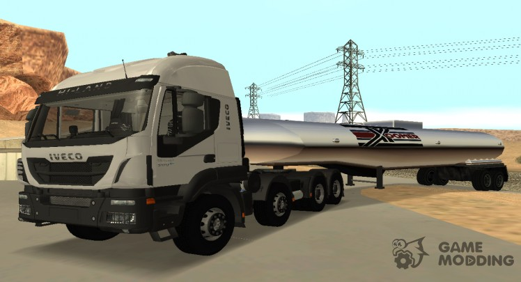 Iveco Trakker Hi-Land E6 2018 high cab 8x4