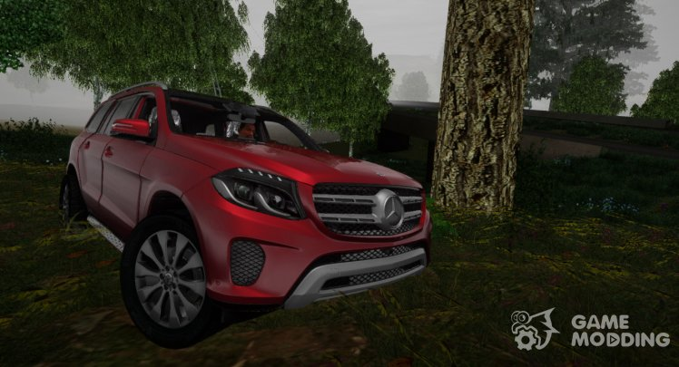 Mercedes-Benz GLS 350D 2018