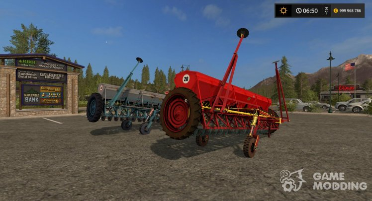 Seeder SZT 5.4 for Farming Simulator 2017