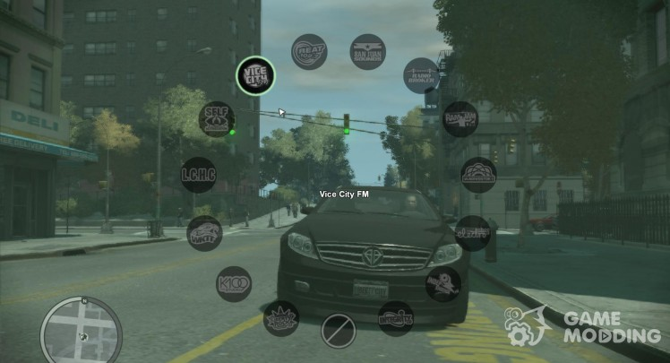 Radio HUD from GTA V