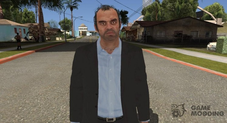 GTA V Trevor Coal Suit
