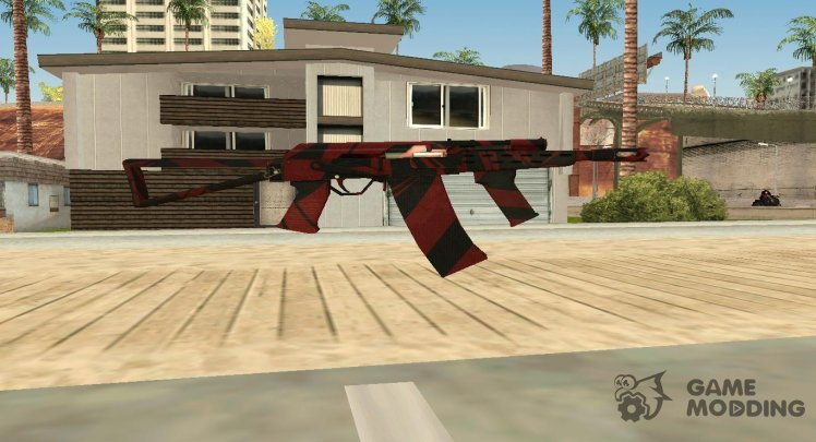 SAIGA-12 RED BLOOD