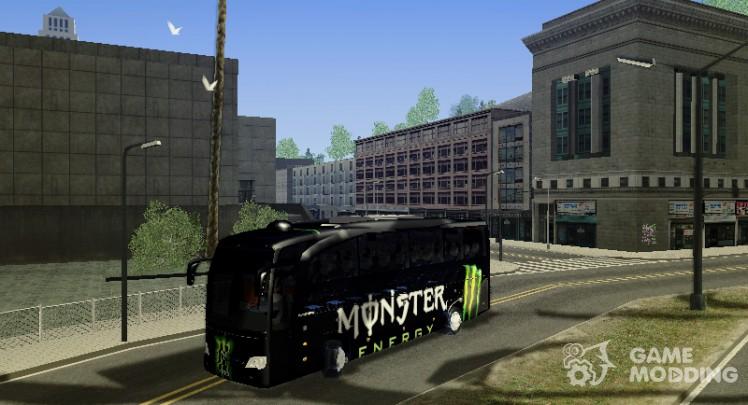 Monster Energy bus by YaroSLAV