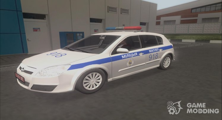 Opel Astra H 1.6 Police of the Republic of Belarus