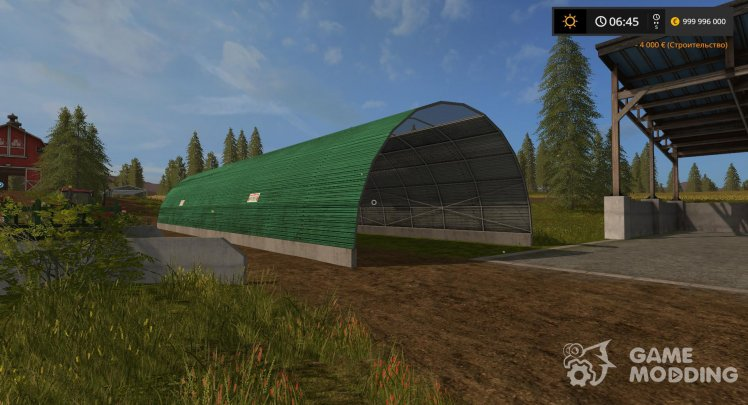 The tunnel for Farming Simulator 2017