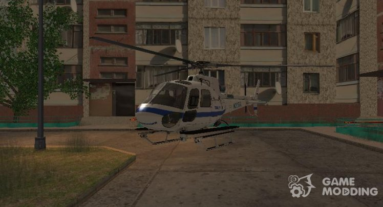 Russian police helicopter