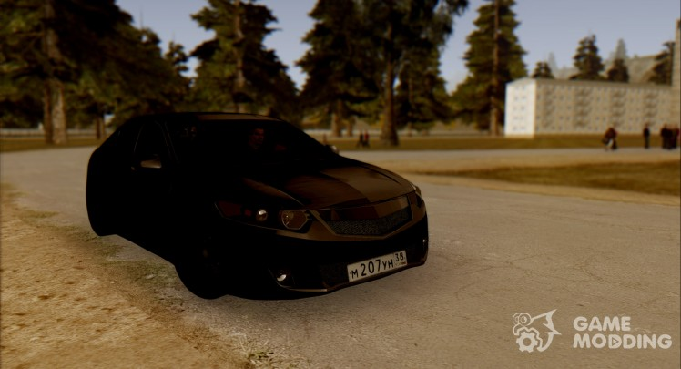 Honda Accord 2009 Stance