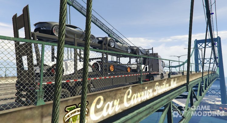 Car Carrier Trailer Mod 1.2