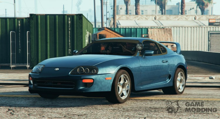 Unmarked 1998 Toyota Supra for GTA 5