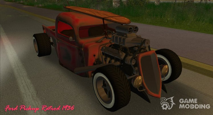 Ford Pickup Ratrod 1936
