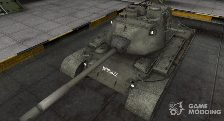 Remodeling M46 Patton tank