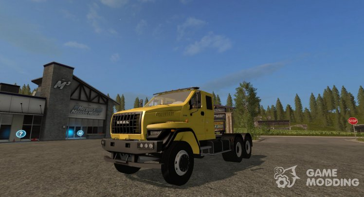 URAL NEXT 6x4 Tractor version 1.1.1