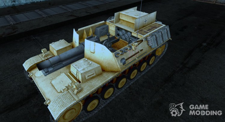 Skin for Sturmpanzer II