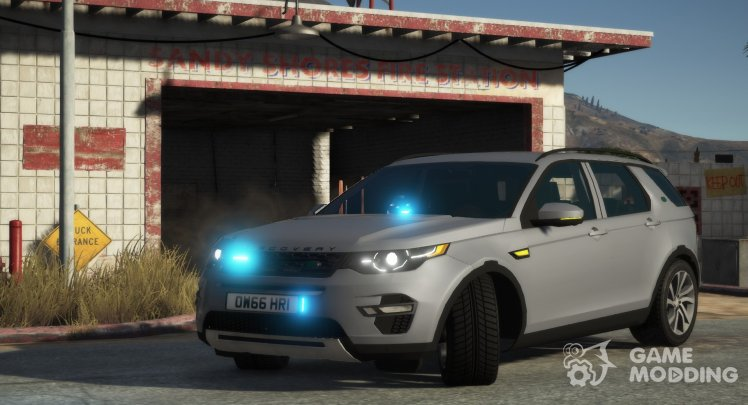 Land Rover Range Rover Sport Unmarked