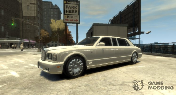 2002 Bentley Arnage Limousine Rims 2