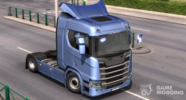 Low deck chassis addon for Scania S&R Nextgen